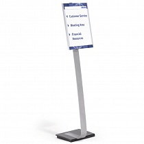 Стенд информационный Durable Info Sign, напольный, A3